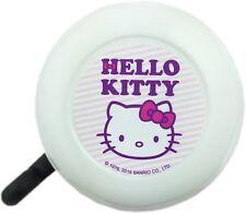 Kinder Fahrrad Glocke Klingel Hello Kitty weiß-pink-lila NEU