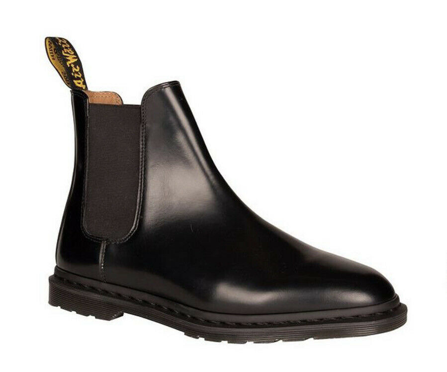 Dr Martens Graeme II Polished Smooth Leather Fashion Chelsea Boots UK12