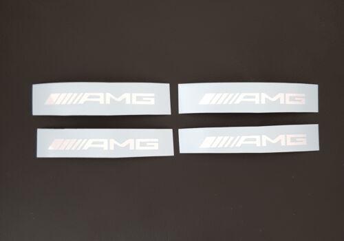 4x AMG Aufkleber Bremssattel Bremse MB Power Sticker SLK63 CLK63 CL63 E63 NEU