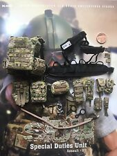 Soldier Story SDU Assault K9 Camo FLPC Vest, Harness & Pouches loose 1/6th scale