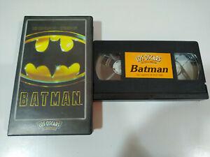 Batman-Nicholson-Keaton-Kim-Basinger-VHS-Cinta-Tape-Espanol