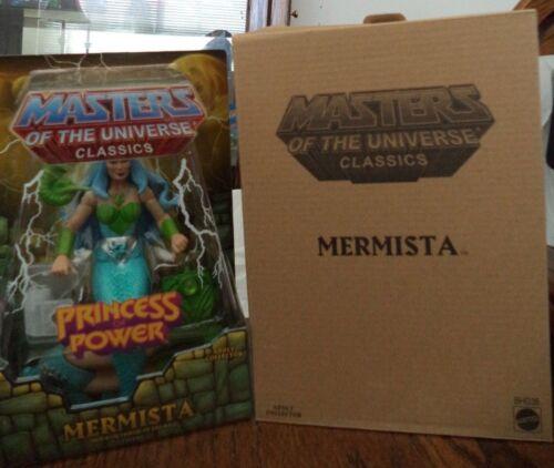 Masters of the Universe Classics mermista Figura Con Mailer BGH38 2014