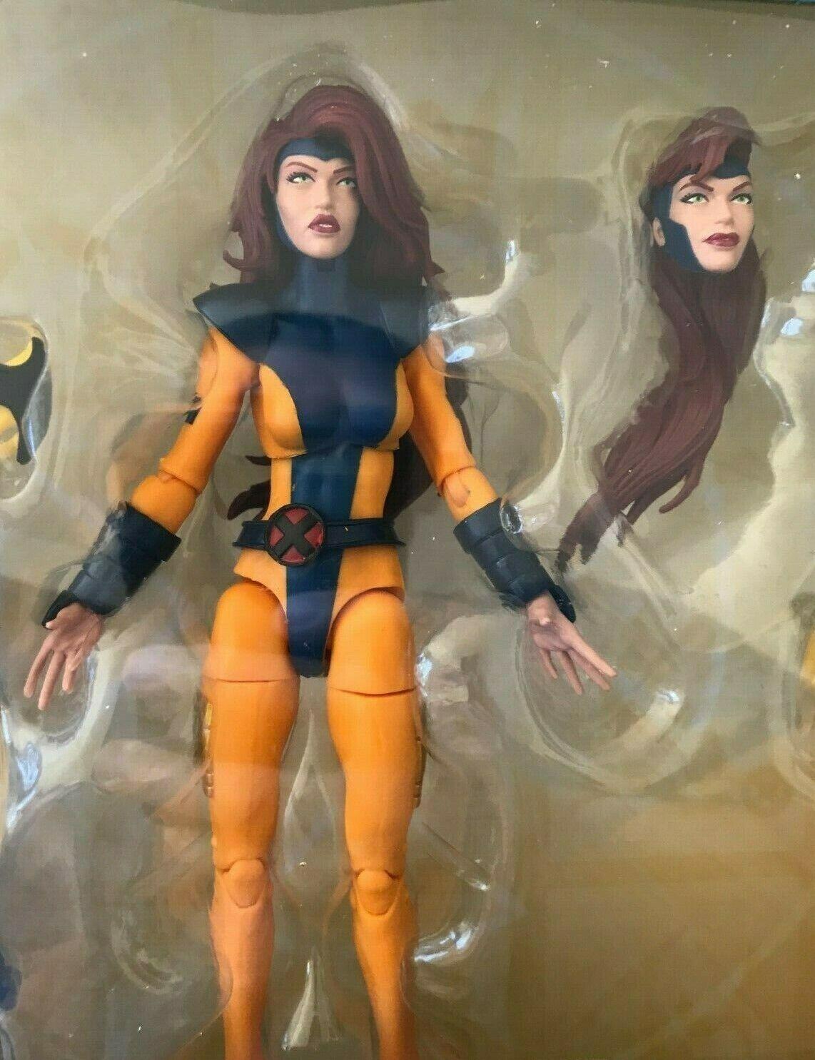 Marvel Legends Familie Dreieck Locker Jean Grau X-Men '90s Animiert Mädchen
