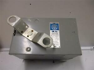 ITE BUSWAY BOX XLVB321 SOLID NEUTRAL 30 AMPS 4 POLE 240 VAC