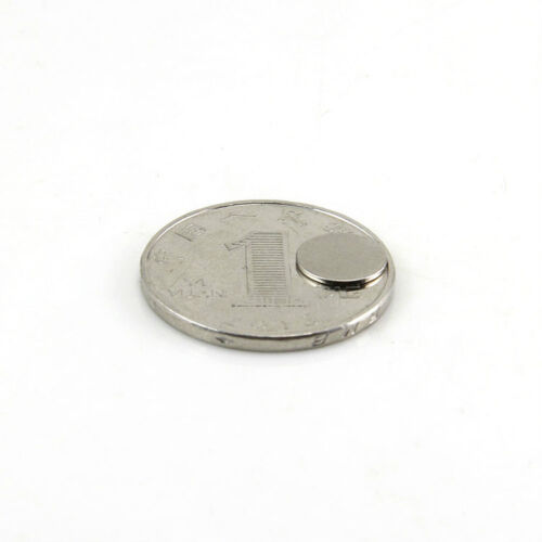 100PCS N50 Strong Cylinder Magnet D12mm X 1mm Round Rare Earth Neodymium