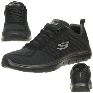Skechers-Skech-Avantage-Flex-2-0-or-Point-Baskets-Chaussures-Homme-BBK