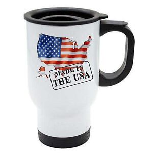 Made-In-USA-Thermal-Travel-Mug-White-Stainless-Steel