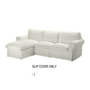 Ikea Ektorp Loveseat Sofa With Chaise Cover Replacement Stenasa