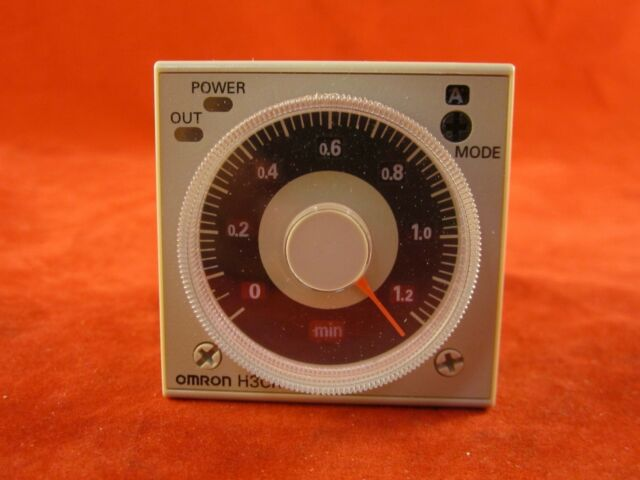 Omron H3CR-A AC24-48/DC12-48 Solid State Timer