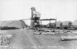 RPPC-Shaft-Mine-Virginia-Minnesota-Mining-Scene-ca-1920s-Vintage-Postcard