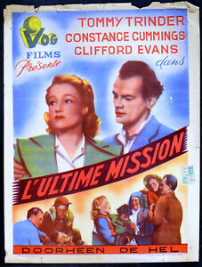 FOREMAN-WENT-TO-FRANCE-1942-Tommy-Trinder-Constance-Cummings-BELGIAN-POSTER