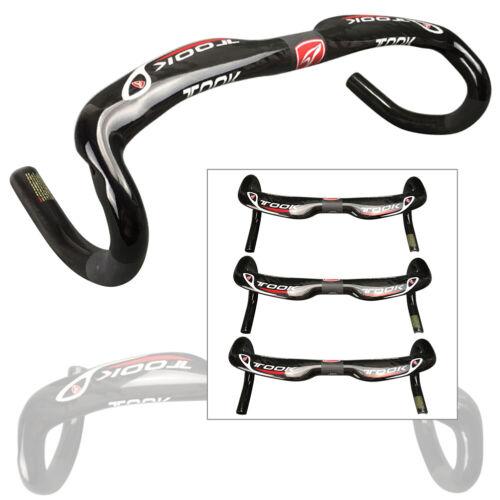 TOOK Full Carbon Bike Handlebar Road Bicycle Racing Drop Bar 31.8*400//420//440mm