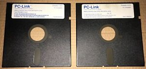 PC-LINK-The-Online-Service-for-PC-5-25-034-floppy-disk-1989-Quantum-Computer-Tandy