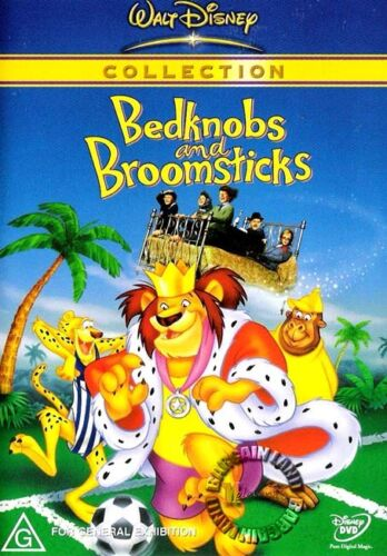 1 of 1 - BEDKNOBS AND BROOMSTICKS : NEW DVD