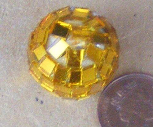 Échelle 1:12 Small Gold Couleur Disco Glitter Ball tumdee Maison de Poupées Accessoire