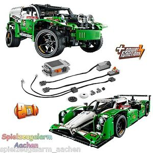LEGO technic set 42039 + 8293 power functions à longue portée voiture de course 24 hours ra 							 							</span>