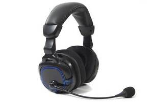 100% Vrai Playstation 3 Wireless Gaming Headset Pour Ps3-afficher Le Titre D'origine