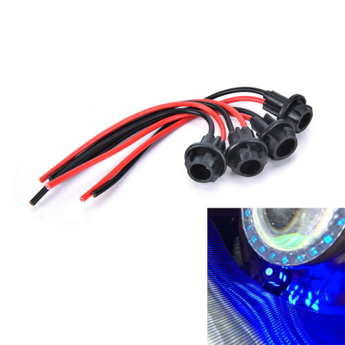 4x T10 W5W 158 501 Car Socket Extension LED Wedge Light Base Connector TDCA