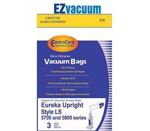 Image Is Loading Eureka Type Ls Upright Vacuum Cleaner Bags 61820a