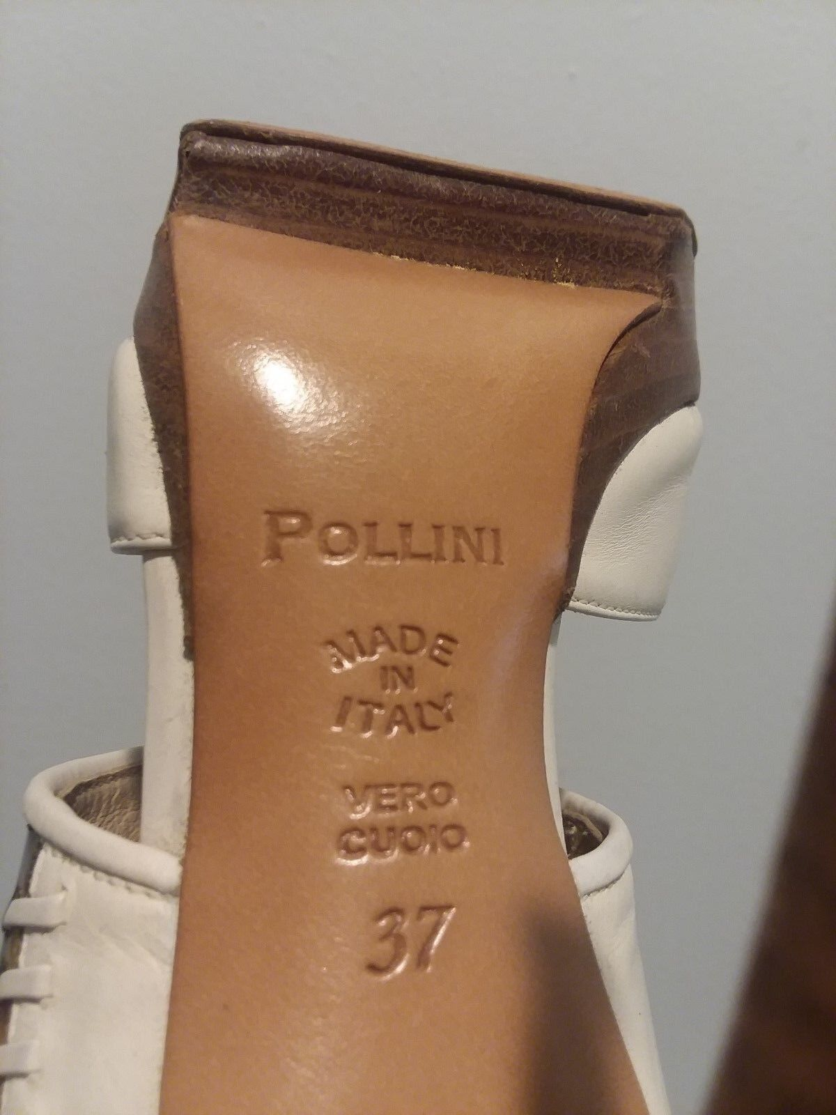 POLLINI , Made in in in ITALY,  Leder, size-37 601a91