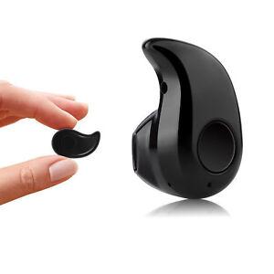 Auricolare MINI Cuffie Bluetooth 4 Auricolare Auricolare 1 iPhone Wireless per Stereo SxSn8aw