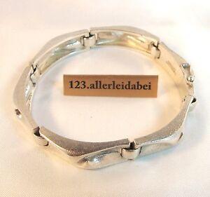 Edles-Lapponia-Armband-925-er-Silber-Finnland-1994-Bjoern-Weckstroem-AO-099