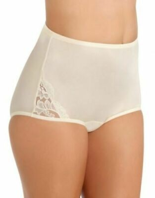 11//4XL 4 prs VANITY FAIR Brief PERFECTLY YOURS LACE NOUVEAU 13001 Panty FAWN