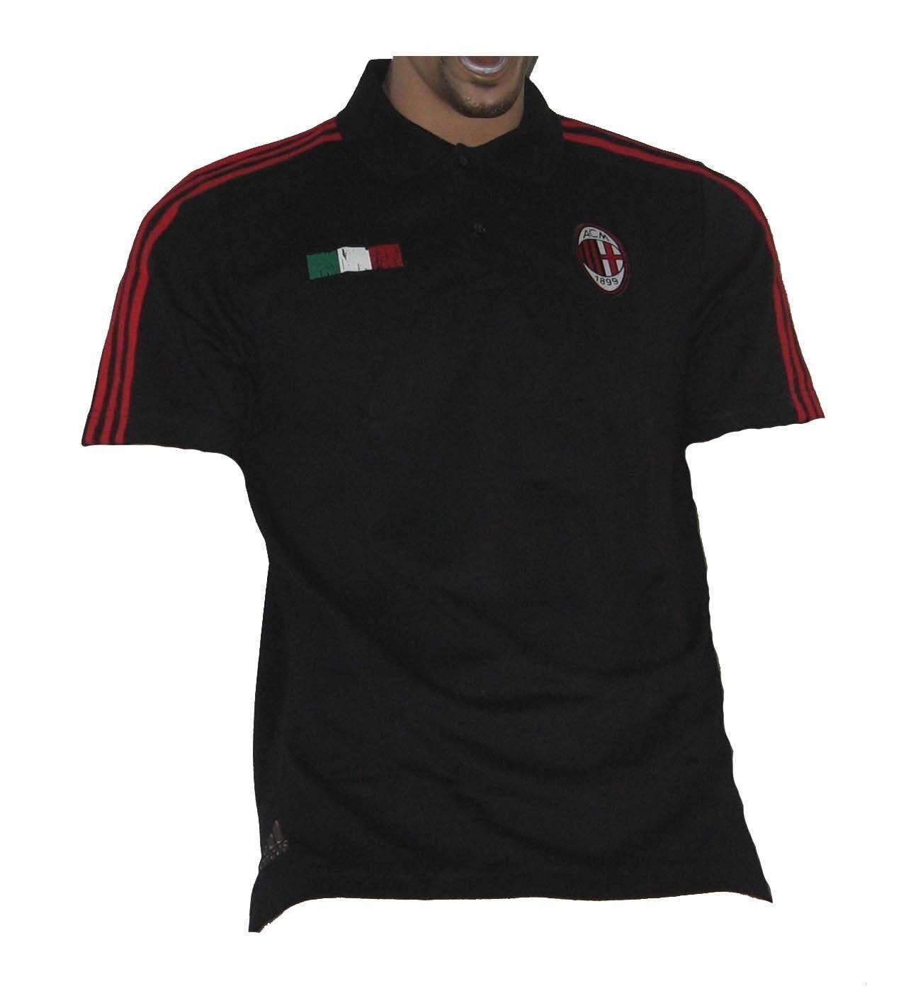 AC Mailand Milan Polo Shirt Adidas M