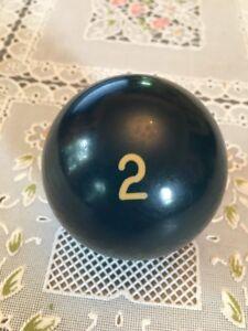 Odd-Vintage-Aramith-2-Ball-Two-Ball-2-1-4-034-Billiard-Ball-Pool-Ball