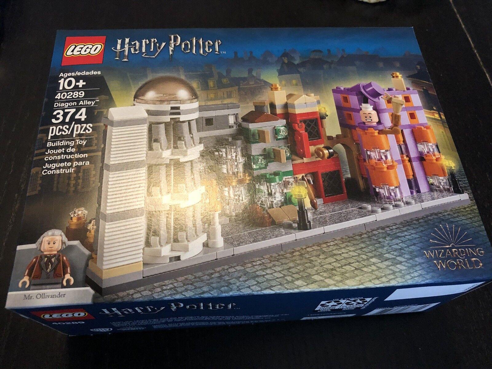 LEGO 40289 Harry Potter Diagon Alley Micro Build FREE SHIPPING