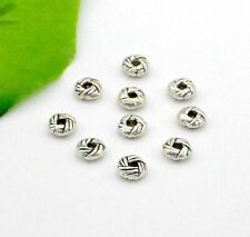 Free Ship 100Pcs Tibetan Silver Spacer Beads Fit Jewelry Making 7x3mm