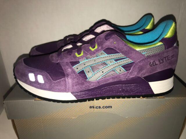 Asics Gel Lyte III Purple Volt Gray