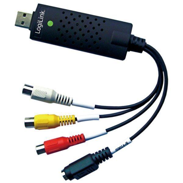 VIDEO DIGITALISIERER VHS KASSETTEN AN PC ÜBERTRAGEN USB KONVERTER ADAPTER WIN10