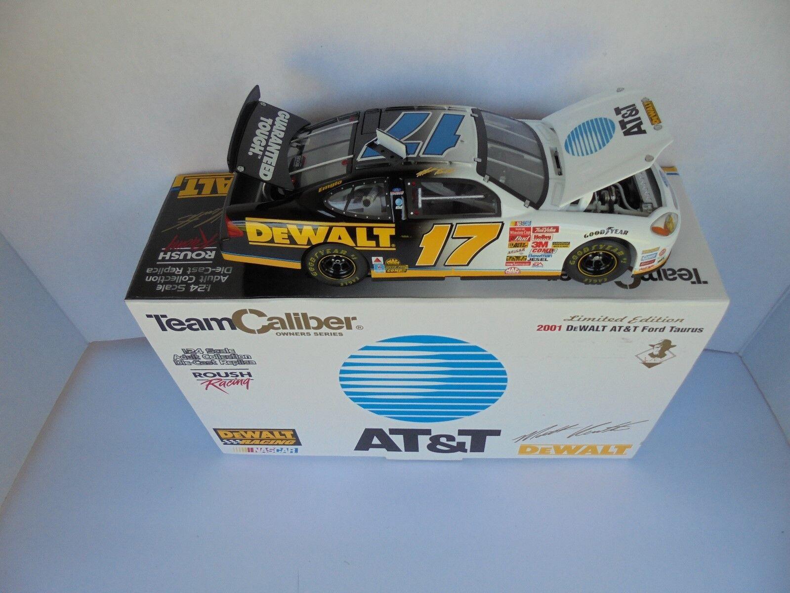 Matt Kenseth  17 DEWALT at&t 2001 Ford Taurus Terminaison NASCAR Diecast Collectible