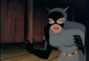 Batman Animated Series- Original Production Cel- Catwoman-Catwalk