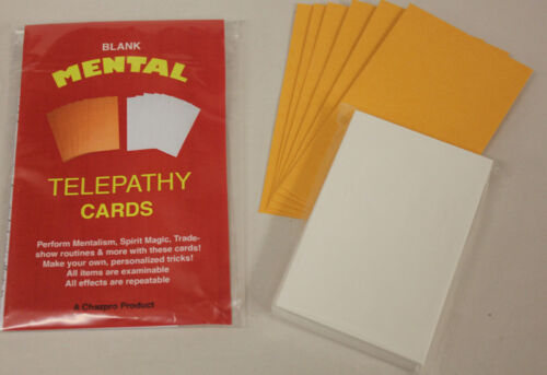 Extra Cards! New Routines Blank Telepathy Cards