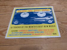 VARIOUS - HERE WE ARE NOW - UNCUT !!!!!!!!!! RARE CD PROMO