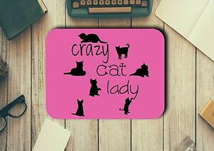 Mouse-Pad-with-Crazy-Cat-Lady-Easy-Glide-Non-Slip-Heat-Resistant