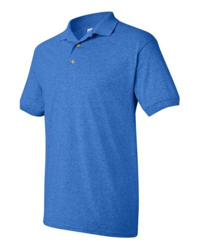 PEACHES PICK GILDAN 3800 Mens Size S-5XL 100/% COTTON Pique Knit Polo Sport Shirt