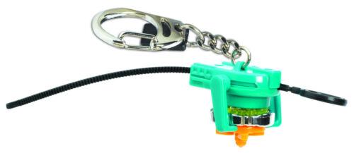 Ripcord NEW S5 Mini 1942 Beyblade RAY STRIKER Top Keychain Keyring w// Launcher
