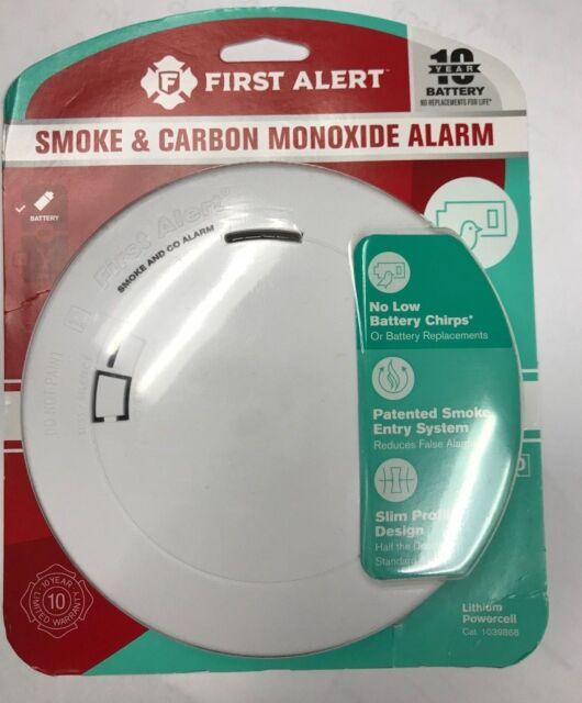 First Alert PRC710V Smoke & Carbon Monoxide Alarm White   eBay