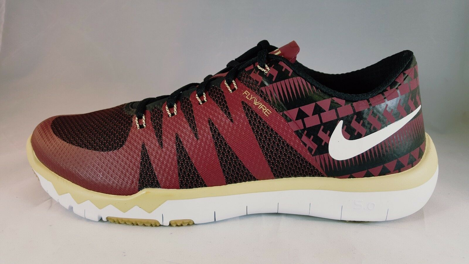 Nike Free TR5.0 V6 AMP Florida State Men's Cross Trainer Shoe 723939 706 Size8.5