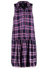 NWT Gap Plaid drop waist dress, Navy Plaid SIZE XS      #241377