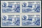 STAMP / TIMBRE FRANCE NEUF N°607 ** BLOC DE 4 TIMBRES CHARTE DU TRAVAIL
