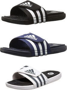 san francisco 223a5 789a9 Image is loading adidas-Men-039-s-Adissage-Sandals-3-Colors