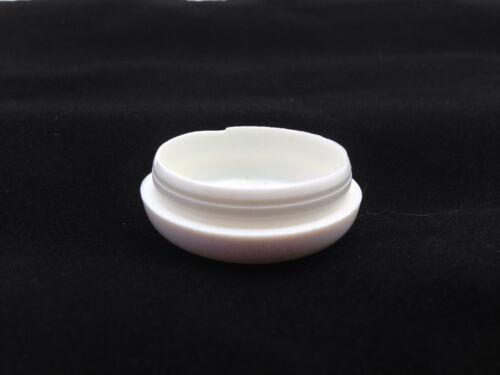 "Caps 1 1//2/"" #612 24 Plastic White Wrought Iron Patio Chair Leg Feet 1.5/"" Cups"