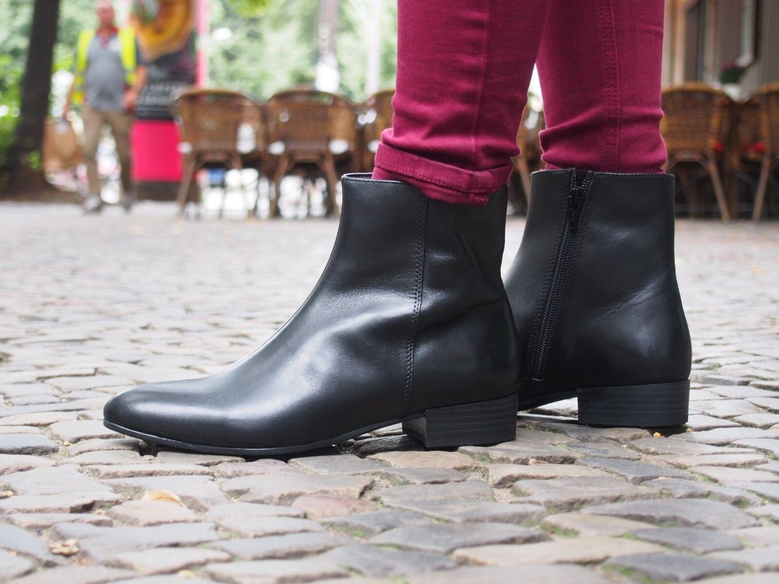 Vagabond Schuhe NEU Ankle Stiefel GIGI schwarz 4201-301 schwarz Stiefelette Echtleder