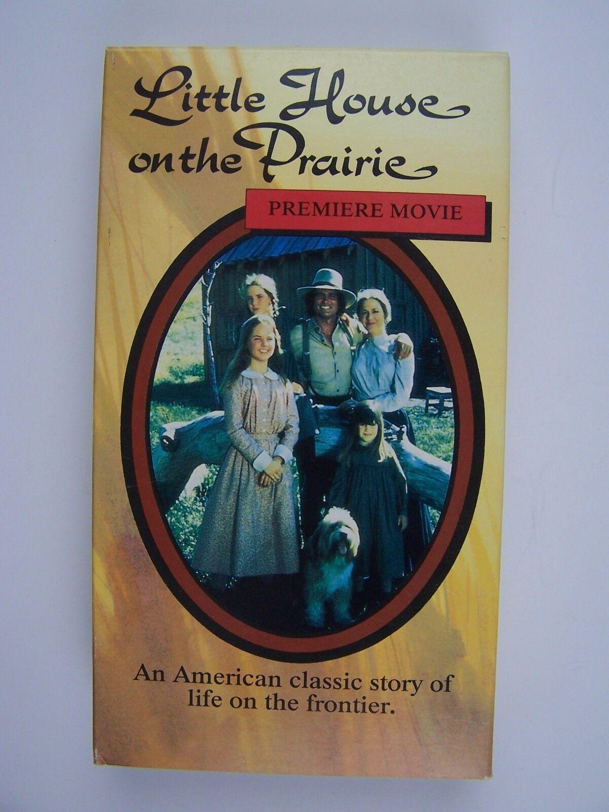 Little House on the Prairie Pilot Premiere VHS 18713091