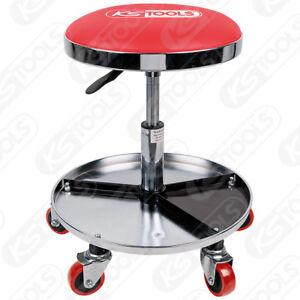 ks tools móvil y ajustable en altura taburete de taller,capacidad