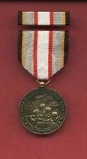 WWII Battle of the Bulge medal with ribbon bar WW2